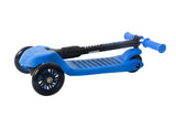 High Bounce Glider Deluxe Scooter with Adjustable T-bar Handle & Break (Blue)