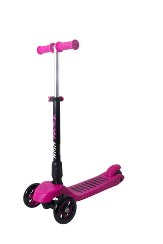 High Bounce Glider Deluxe Scooter with Adjustable T-bar Handle & Break (Pink)