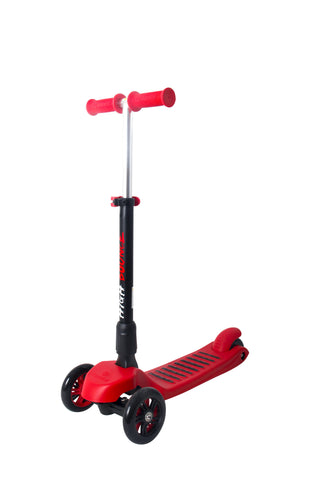 High Bounce Glider Deluxe Scooter with Adjustable T-bar Handle & Break (Red)