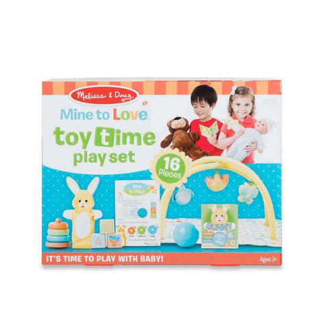 Melissa & Doug  Toy Time Play Set For Dolls