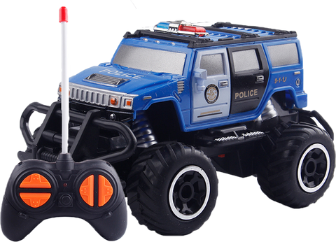 Mini Police Remote Control Car