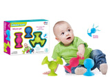 2 in 1 Baby Teether Toy