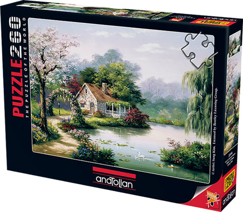 Arbor Cottage - 260pc Jigsaw Puzzle by Anatolian
