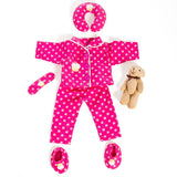 8 Piece Good Night Set for 18'' doll, Fits American Girl Doll.