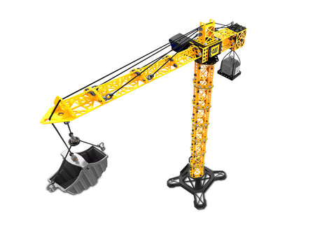 Toystate Apprentice Tower Crane With Fork Lift