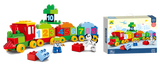 Train Set With Number Blocks 48 pcs