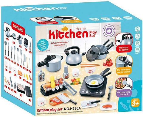 33 Piece Kitchen Play Set