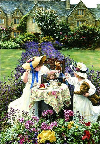 Anatolian Puzzle, Tea Time in the Garden, 260 Pieces