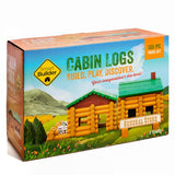 Cabin Logs, 100 Pieces