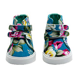 "Hi Top Floral Sneakers for 18"" Dolls"