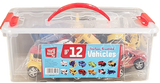 Top Right Friction Powered Vehicles- Set of 12