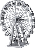 3D Metal Works Model, Ferris Wheel, Laser Cut Puzzle - Toys 2 Discover