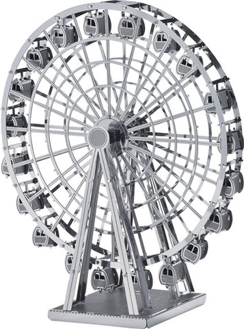3D Metal Works Model, Ferris Wheel, Laser Cut Puzzle