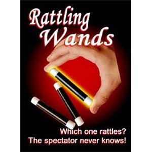 Rattling Wands Magic Trick