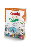 BZ Kinder Ready Set Color, Color By Dot