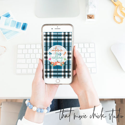 iPhone September Freebie - that moxie chick studio