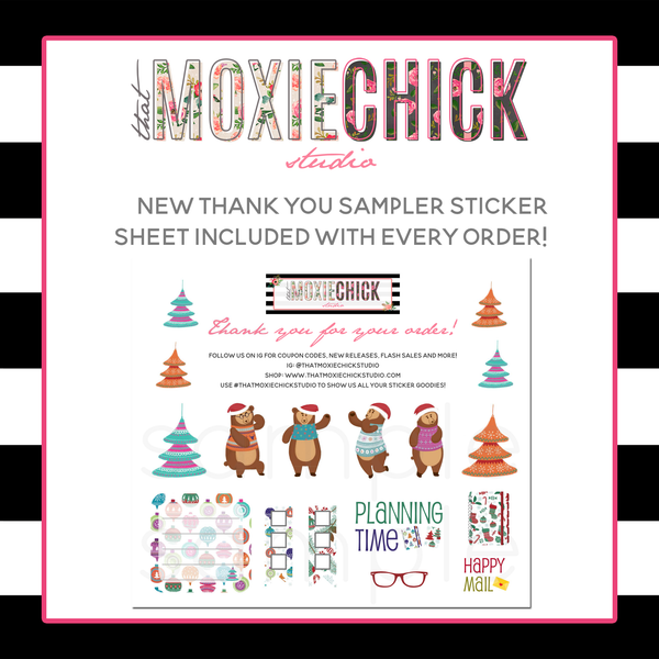Pocket Size - Sweety Birds 'General Month' #POSB1 - POCKET SIZE FOLDABLE SHEET - That Moxie Chick Studio