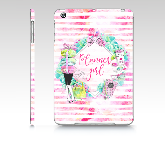 Planner Girl iPad Mini case - That Moxie Chick Studio