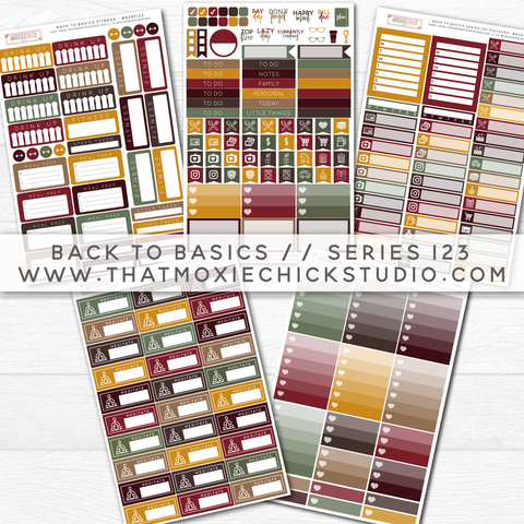 BACK TO BASICS SERIES 123 // New Release