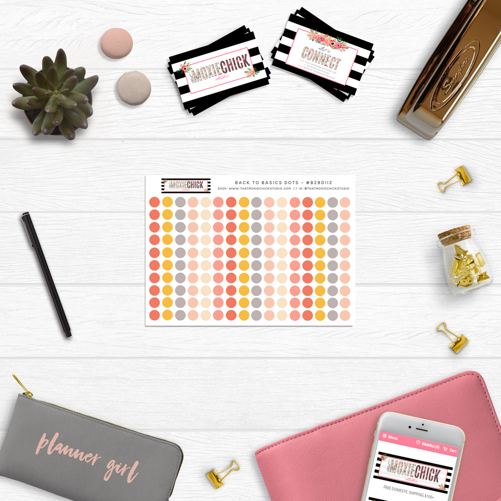Back to Basics Dots // Series: 112 - That Moxie Chick Studio
