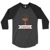 Buffalo Plaid Nerdy Moxie Chick Personalized 3/4 sleeve raglan shirt // New Release - That Moxie Chick Studio