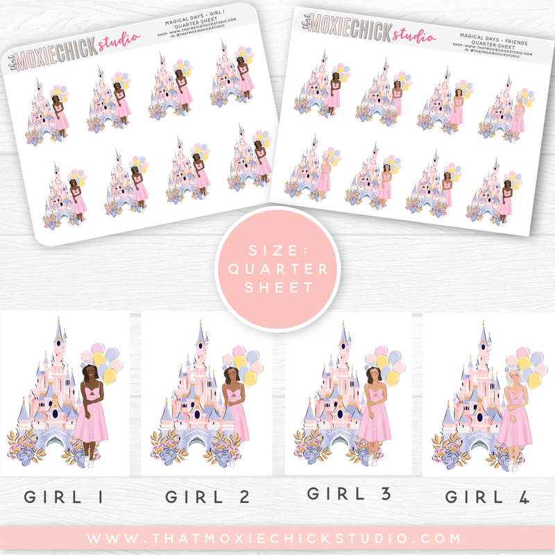 MAGICAL DAYS - GIRLS // QUARTER SHEET // NEW RELEASE