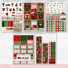 MAGIC WINTER CELEBRATION // HAND DRAWN KIT // 5 LARGE SHEETS // NEW RELEASE - That Moxie Chick Studio