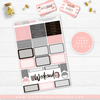 Moxie Chicks Plaid and Pink // LARGE SHEETS - That Moxie Chick Studio