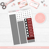 "' NERDY PLANNER FRIENDS ""BUFFALO PLAID"" // HAND DRAWN KIT // 5 LARGE SHEETS // NEW RELEASE - That Moxie Chick Studio"