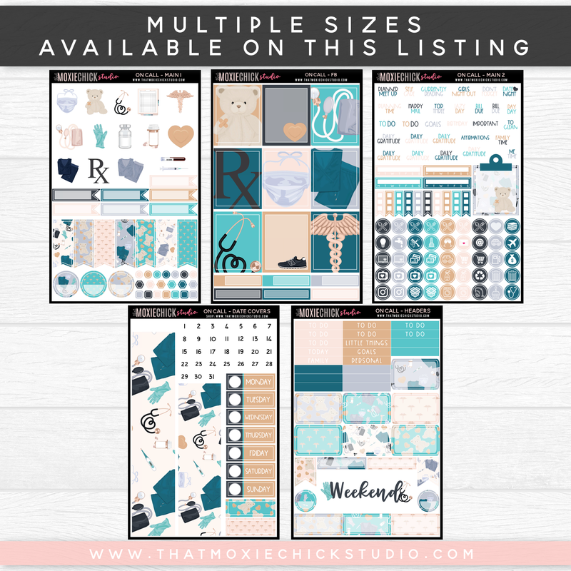ON CALL // NEW RELEASE // MULTIPLE SIZES ON THIS LISTING - That Moxie Chick Studio