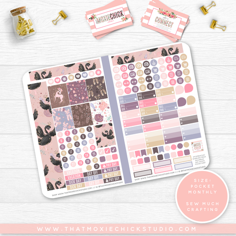 NEW RELEASE // SPARKLING PRIMA BALLERINAS 'SEW MUCH CRAFTING MONTHLY' // POCKET SIZE