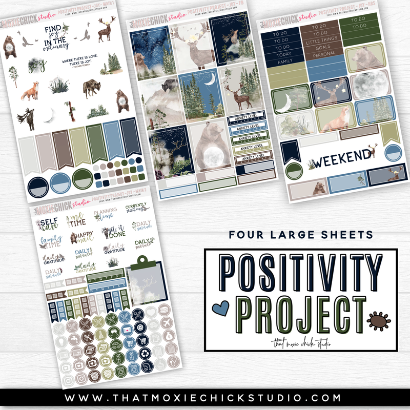 POSITIVITY PROJECT KIT - JOY // NEW RELEASE