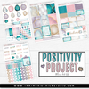 POSITIVITY PROJECT KIT - COURAGE // NEW RELEASE - That Moxie Chick Studio
