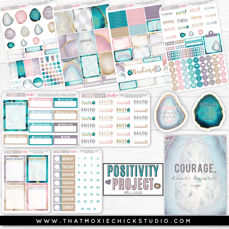 POSITIVITY PROJECT KIT - SEPTEMBER // NEW RELEASE