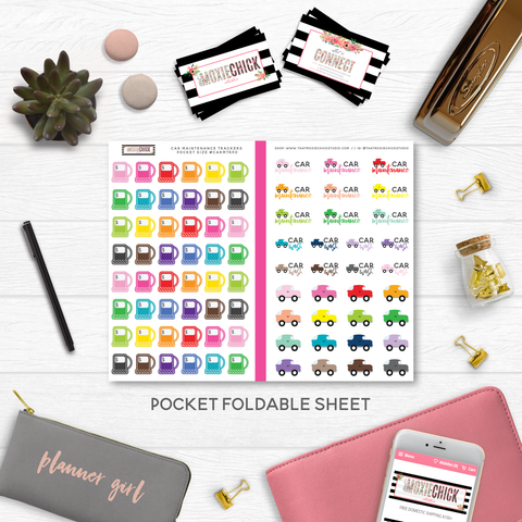 NEW RELEASE // CAR MAINTENANCE POCKET SIZE - That Moxie Chick Studio