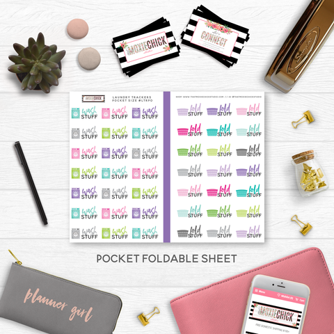 NEW RELEASE // LAUNDRY POCKET SIZE - That Moxie Chick Studio