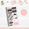 NEW RELEASE // MOXIE CHICK PLAID AND PINK // PERSONAL SIZE SHEETS