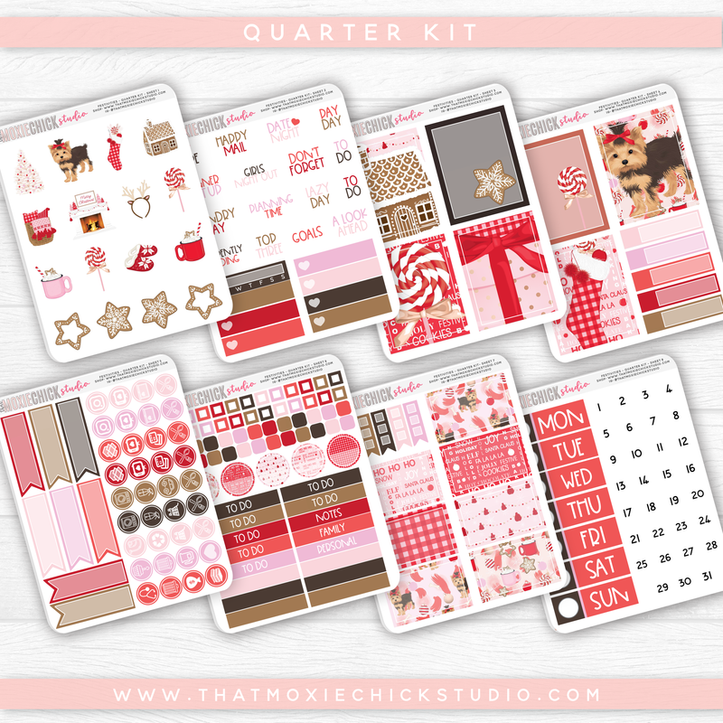 FESTIVITIES - 8 SHEETS QUARTER KIT // NEW RELEASE