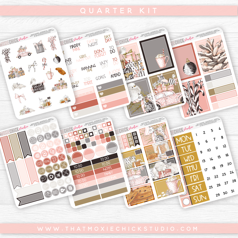WARM WISHES - 8 SHEETS QUARTER KIT // NEW RELEASE