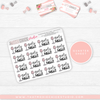 HAND-DRAWN SELF CARE SHEETS (ALL SHEETS ON ONE LISTING) // New Release - That Moxie Chick Studio