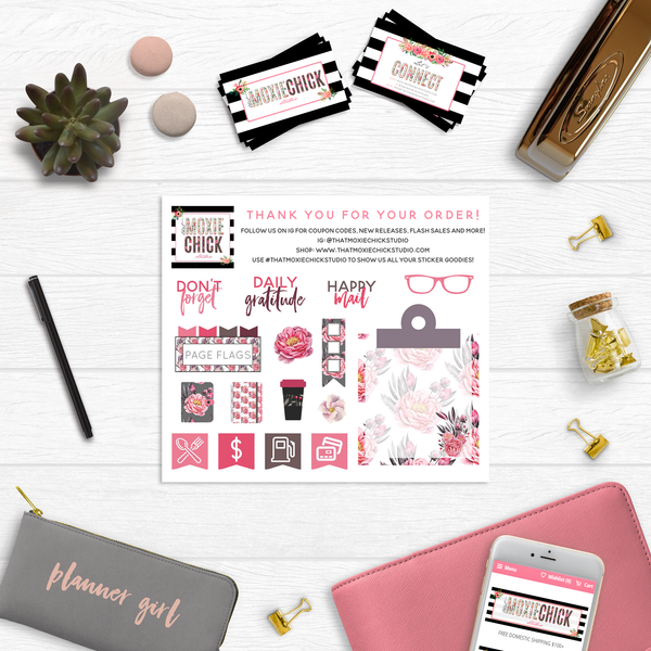 Wild at Heart Washi and Date Covers // Official Go Wild Merchandise // #WHWA7 - That Moxie Chick Studio