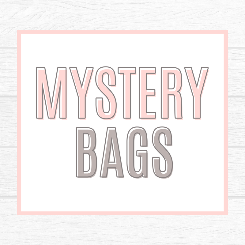 Mystery Grab Bags (NOT Oopsies! These are perfectly fine) 10 Quarter Sheets OR 15 Large Sheets // NEW Release