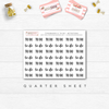 TO DO TYPOGRAPHY // QUARTER SHEET - That Moxie Chick Studio