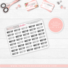 TYPOGRAPHY #4 NEUTRAL Quarter Size sheets // NEUTRAL SERIES - That Moxie Chick Studio
