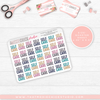 TYPOGRAPHY #4 Quarter Size sheets // BACK TO BASICS SERIES 114 - That Moxie Chick Studio