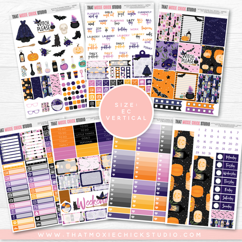 NEW RELEASE // WITCH PLEASE LARGE SHEETS EC