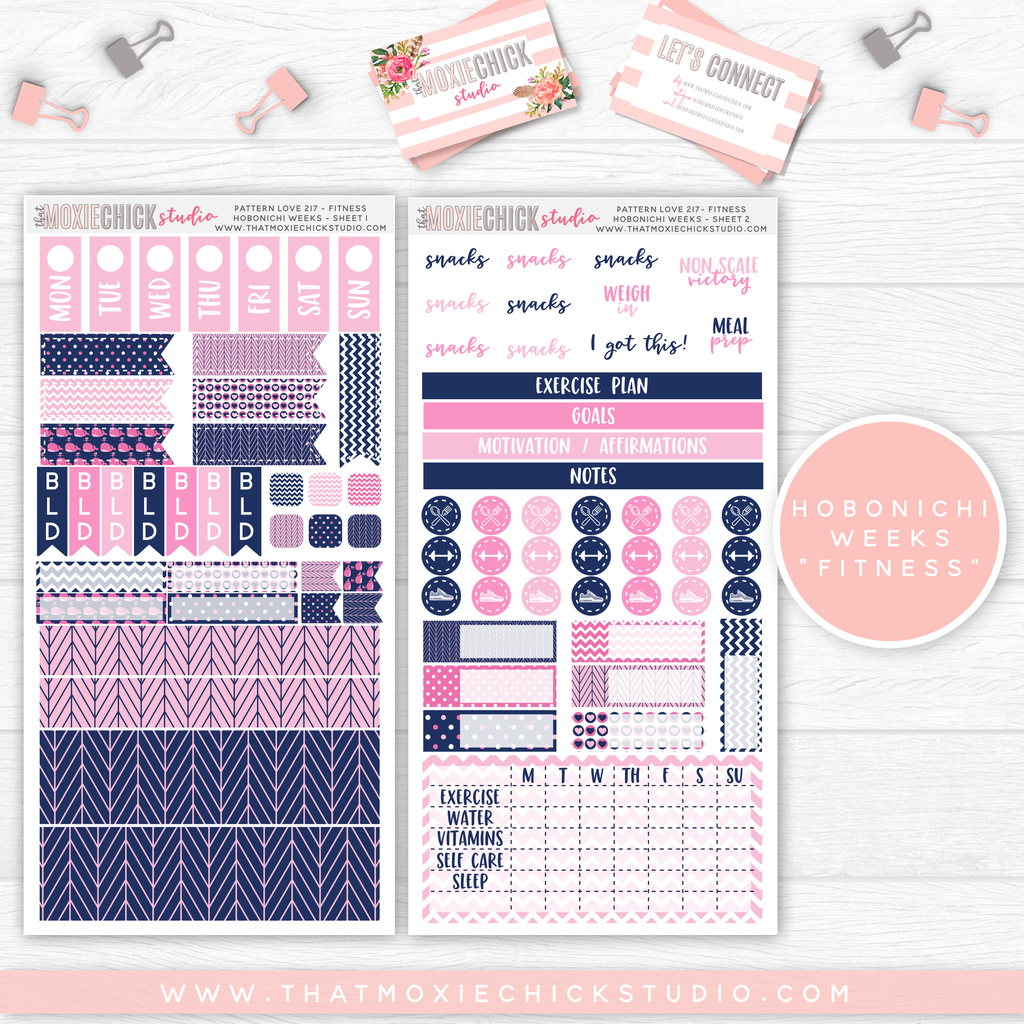"HOBONICHI WEEKS ""FITNESS"" // PATTERN LOVE 217 // NEW RELEASE"