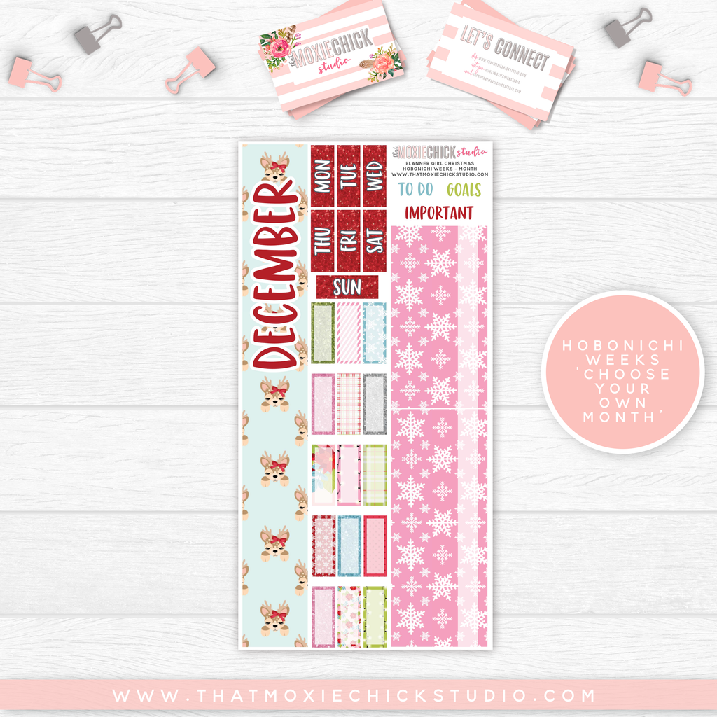 HOBONICHI WEEKS // MONTH - PLANNER GIRL CHRISTMAS // NEW RELEASE