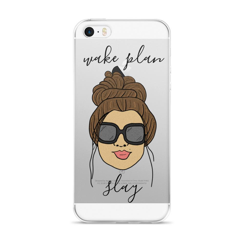 'Foxy Moxie Chick' / Wake Plan Slay / iPhone case 5/5s/Se, 6/6s, 6/6s Plus Case - That Moxie Chick Studio