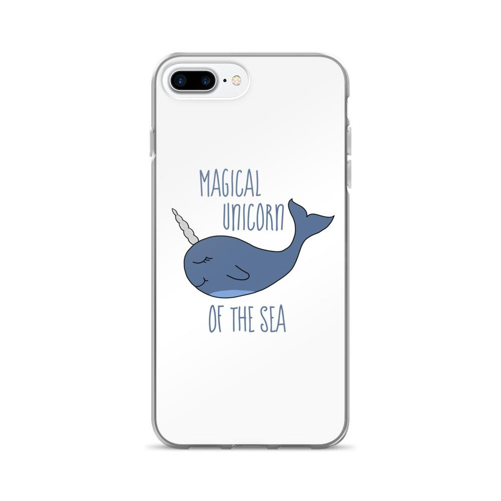Narwhal the Magical Unicorn iPhone 7/7 Plus Case - That Moxie Chick Studio